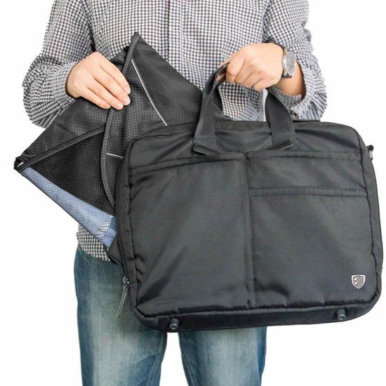 Reistas Voor Overhemden & Blouses - Tas - Kreukvrij - Zakenreis - Zwart - Sunflake