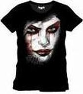 Batman: Arkham Knight - Harley Quinn Face Men T-Shirt - Black