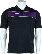 Jako polo Player - Sportpolo -  Heren - Maat S - Navy;Purple