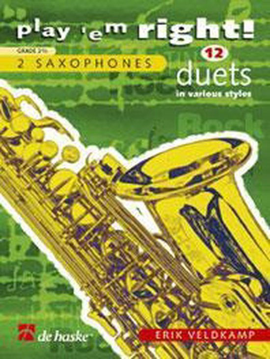 Saxofoon 12 duets in various styles - E. Veldkamp pdf epub