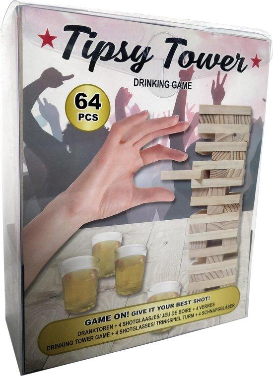 Afbeelding van het spel Stapeltoren Drankspel - Tipsy Tower