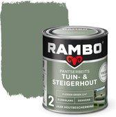 Tuin - & Steigerhout 750 ml Flessen Groen 1147