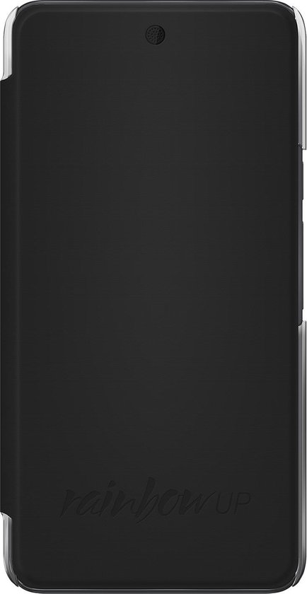 Wiko booklet case - black - Wiko Rainbow Up