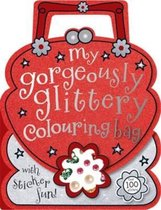 Gorgeously Glittery Shaped Colouring and Sticker Book