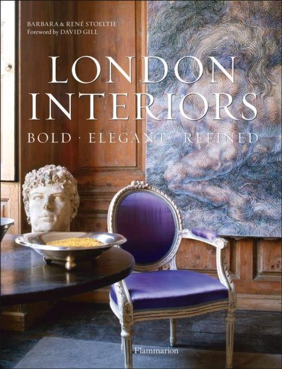 Boek cover London Interiors van Barbara Stoeltie (Hardcover)
