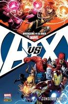Omslag Avengers vs X-Men - Conséquences