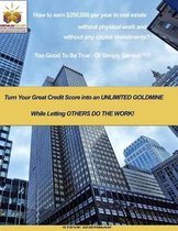 How to Earn $250,000 Per Year in Real Estate Without Physical Work and Without Any Capital Investments?