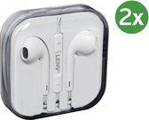 iPhone in-ear oordopjes - 3.5mm met afstandsbediening en microfoon - Headset voor Apple iP