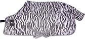Epplejeck Flycooler Zebra Normal Neck - Vliegendeken - Zwart/Wit - mt. 185cm