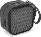 Aukey SK-M13 - Draagbare Mini Bluetooth-luidspreker met ingebouwde microfoon, grijs