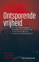 Boek cover Ontsporende vrijheid van Hans Boutellier