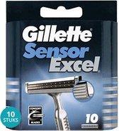 Gillette Sensor Excel Scheermesjes Voordeelverpakking 10 x 10 Mesjes