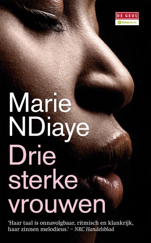 Boek cover Drie sterke vrouwen van Marie Ndiaye (Onbekend)