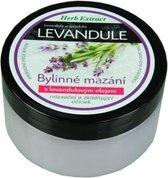 Herb Extract® Kruidenzalf met Lavendelolie - 100ml - geschikt voor de droge, gebarsten en ruwe huid van benen en handen.