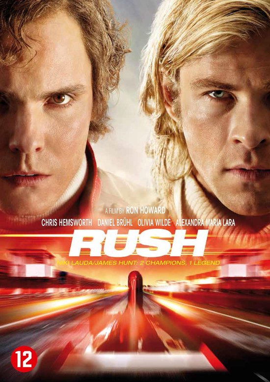 Cover van de film 'Rush'
