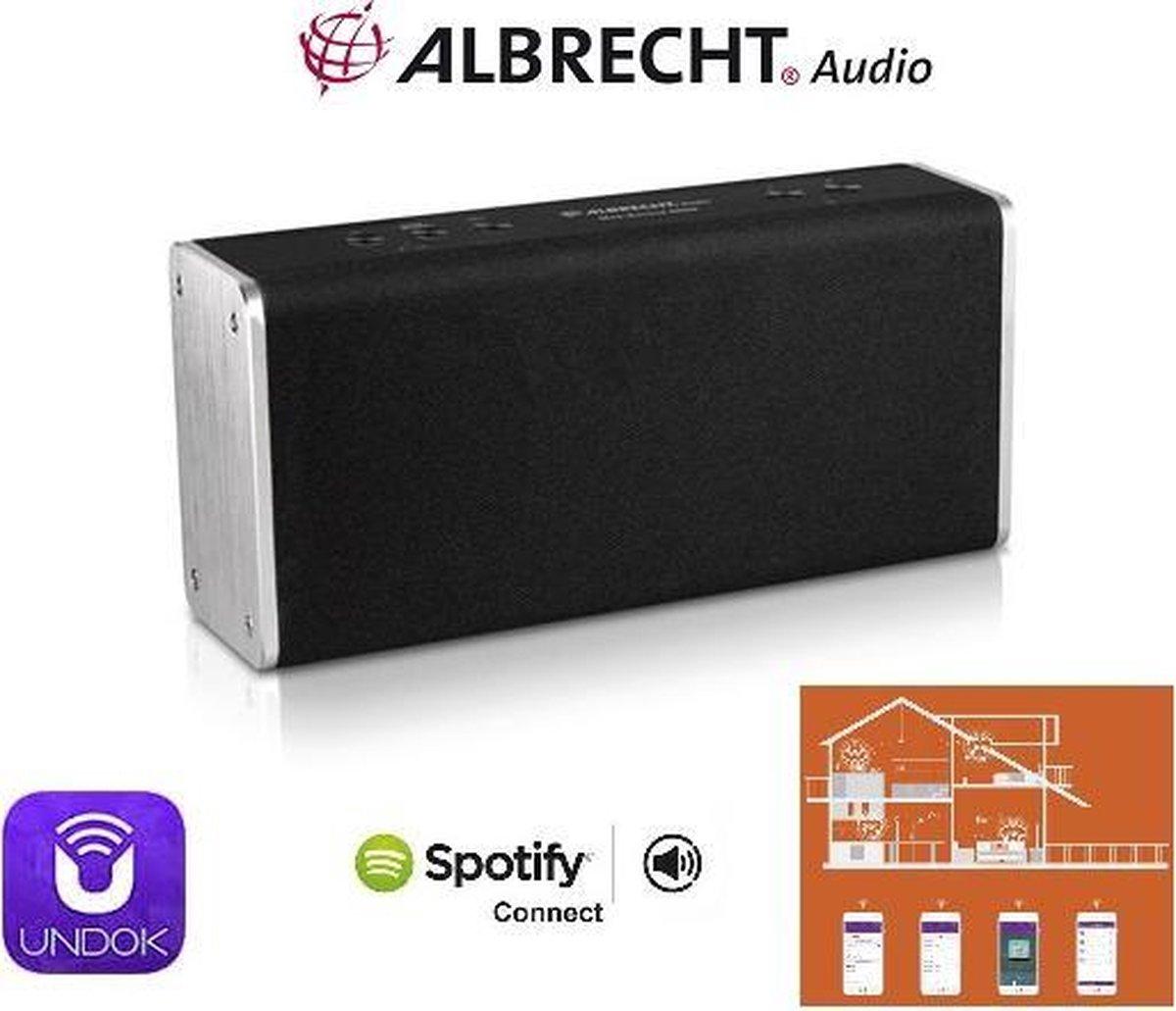 Albrecht Max-Sound 900S Multiroom luidspreker - internet radio - Spotify connect