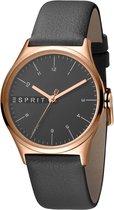 Esprit ES1L034L0045 horloge dames - grijs - edelstaal PVD ros�