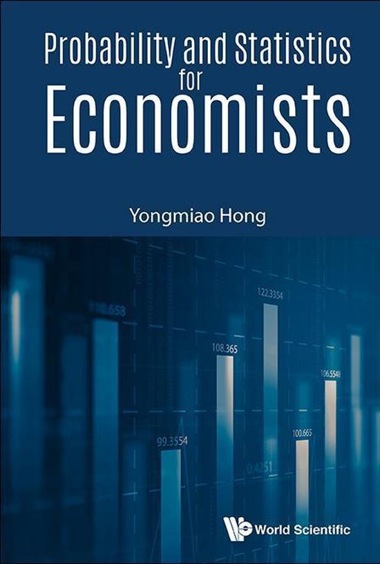 Boek cover Probability And Statistics For Economists van Yongmiao Hong (Onbekend)