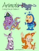 Animals Coloring Book for Toddlers 5