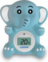 Luvion bad/kamerthermometer Olifant