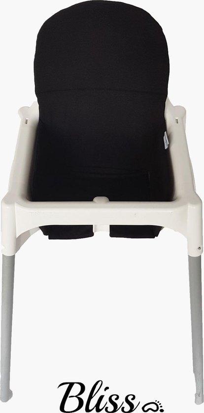 Wonderlijk bol.com | Bliss Kussen voor IKEA Antilop Kinderstoel -Zwart LO-73