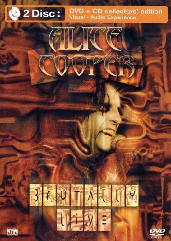 Cover van de film 'Alice Cooper - Brutally Live'