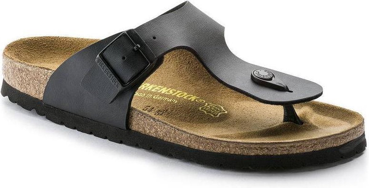 Birkenstock Ramses Heren Slippers Regular fit - Black - Maat 43