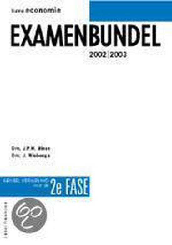 Havo Economie Examenbundel 2E Fase - J.P.M. Blaas |