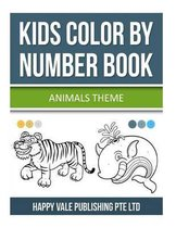 Kids Color By Number Book