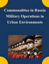 Commonalities in Russia Military Operations in Urban Environments