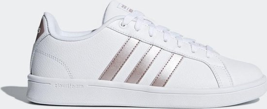 adidas CF Advantage Sneakers Dames - Ftwr White/Vapour Grey Met.F16/Ftwr  White