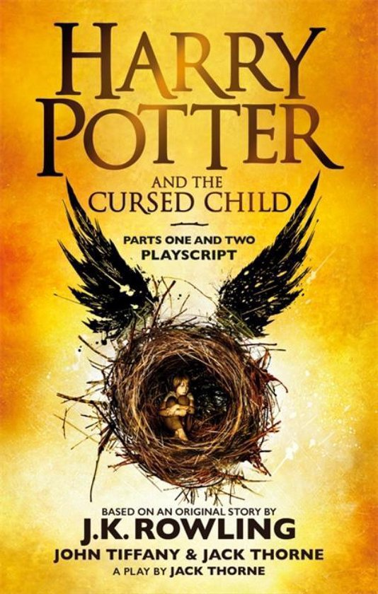 Boek cover Harry Potter and the Cursed Child - Parts One and Two van J.K. Rowling (Paperback)