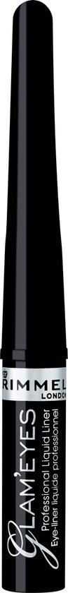 Rimmel London Glam'Eyes Professional Eyeliner - 001 Black Glamour