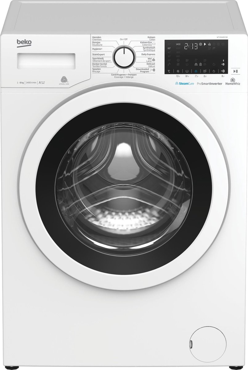 Beko WTV81483CSB – Wasmachine – NL/FR