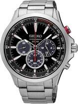 Seiko SSC493P1 horloge heren - zilver - edelstaal