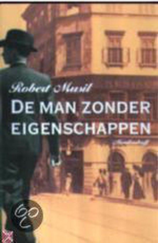 Cover van het boek 'De man zonder eigenschappen' van Robert Musil