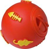 Adori Kattenspeeltje Voerbal 7.5 cm Rood Geel