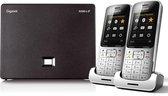 Gigaset SL450A Go - Duo DECT telefoon - Antwoordapparaat - Zilver