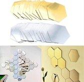 Spiegel Sticker Set - Acryl - Wandspiegel - Woonka