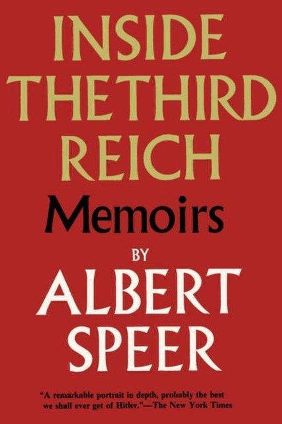 Boek cover Inside the Third Reich van Albert Speer (Paperback)
