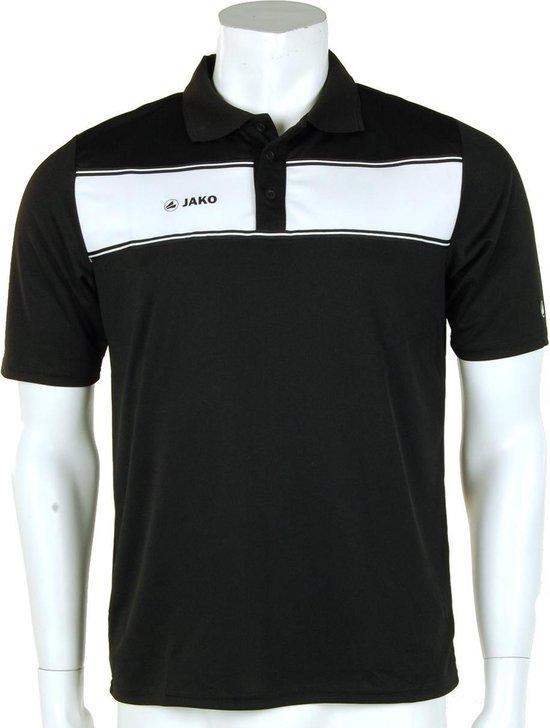 Jako Polo Player - Sportpolo -  Heren - Maat S - Black;White