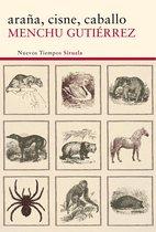 Boek cover araña, cisne, caballo van Menchu Gutierrez