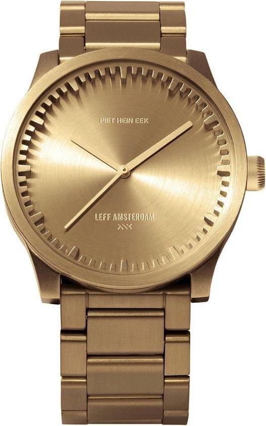 LEFF amsterdam – S38 – Horloge – Staal – Goud – Ø 38mm