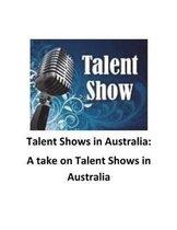 Talent Shows in Australia