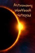 Astronomy Workbook Notepad