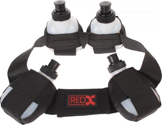 Red-x Bidonriem Voor 4 Bidons Zwart Maat L