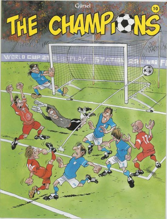 Cover van het boek 'The champions / 10'