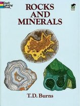Rocks and Minerals Colouring Book