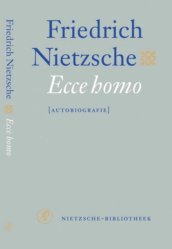 Boek cover Nietzsche-bibliotheek - Ecce homo van Friedrich Nietzsche (Paperback)