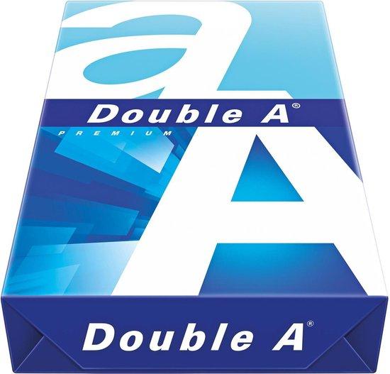 Afbeelding van Double A A3 papier - 500 vel (pak) - Premium printpapier 80g